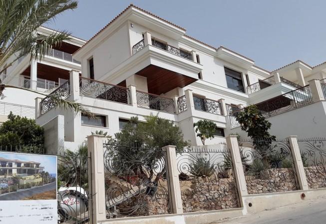 barandillas, balcones, valla, en forja