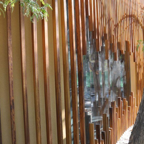 fachada madera
